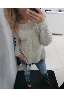 Sweter beżowy