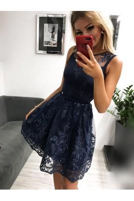 Sukienka Alicja granat