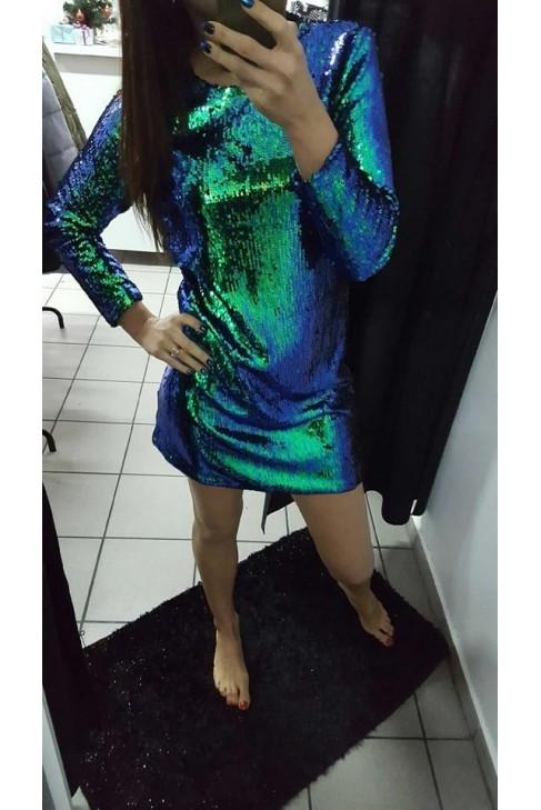 Sukienka cekiny CARIO