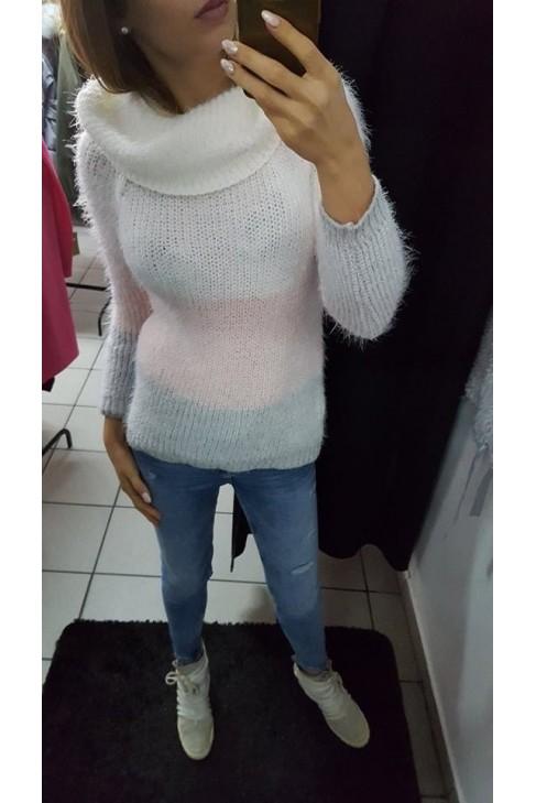 Sweter / golf kolorowy