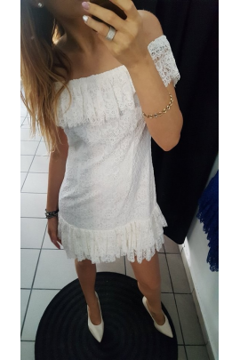 Sukienka hiszpanka koronka