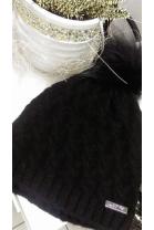 Zimowa czapka z pomponem 4410