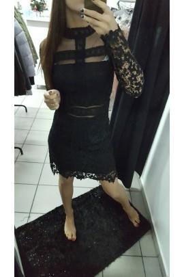 Sukienka czarna koronka