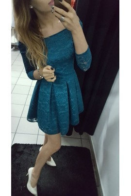 Sukienka koronka Scarlet
