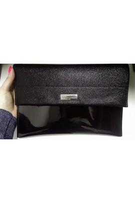 Elegancka kopertówka czarna