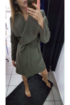 Płaszcz Saven khaki
