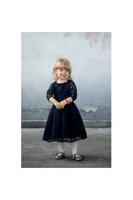 2681129725 Sukienka Scarlet dla dziewczynki granatowa