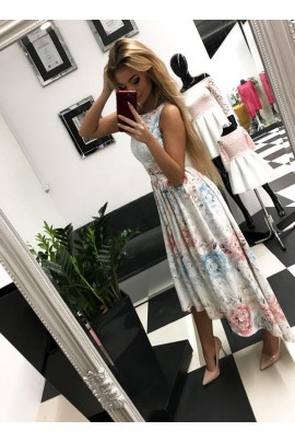 Sukienka Peonia maxi
