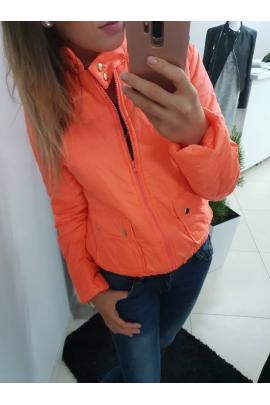 Kurtka jesienna O'la Voga pomarańczowa